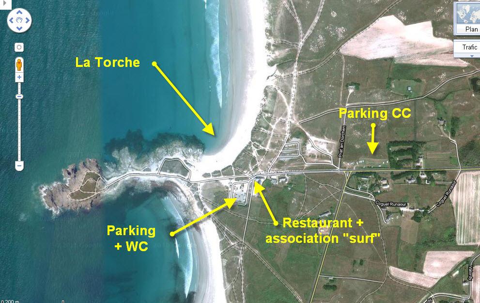 la torche du 13 au 19 aout Torche_parking